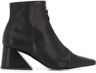 YUUL YIE Chunky Heel Ankle Boots