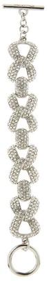 Oscar de la Renta Pave Chain Bracelet
