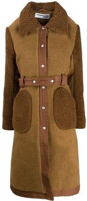 Courreges belted coat