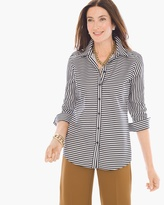 Chico's Horizontal Stripe Shirt