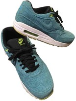 Nike 1 Blue Suede Trainers