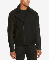 Kenneth Cole Reaction Men's Colorblocked Wool Moto Jacket