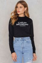 Cheap Monday Win Doodle Logo Sweat