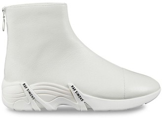 Raf Simons Cylon Leather Ankle Boots