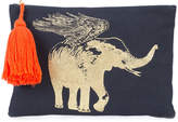 Figue flying elephant pouch