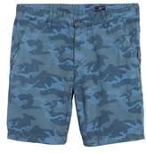 AG Jeans Wanderer Slim Fit Cotton & Linen Shorts