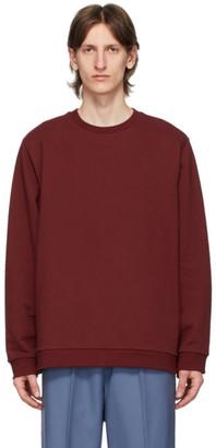 Camiel Fortgens Burgundy Crewneck Sweater