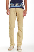True Religion Twill Straight Leg Pant