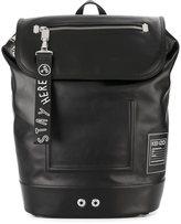 Kenzo flap backpack