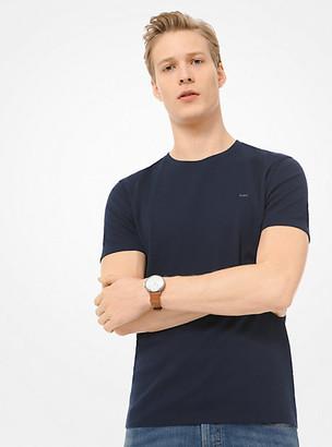 Michael Kors Cotton T-Shirt - Black