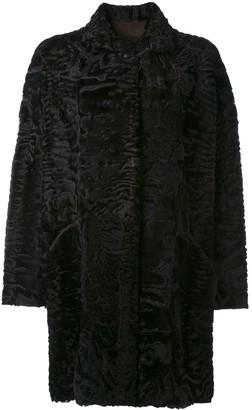 Liska Hyrmes single-breasted coat