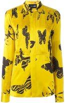 Michel Klein 'butterfly' print shirt