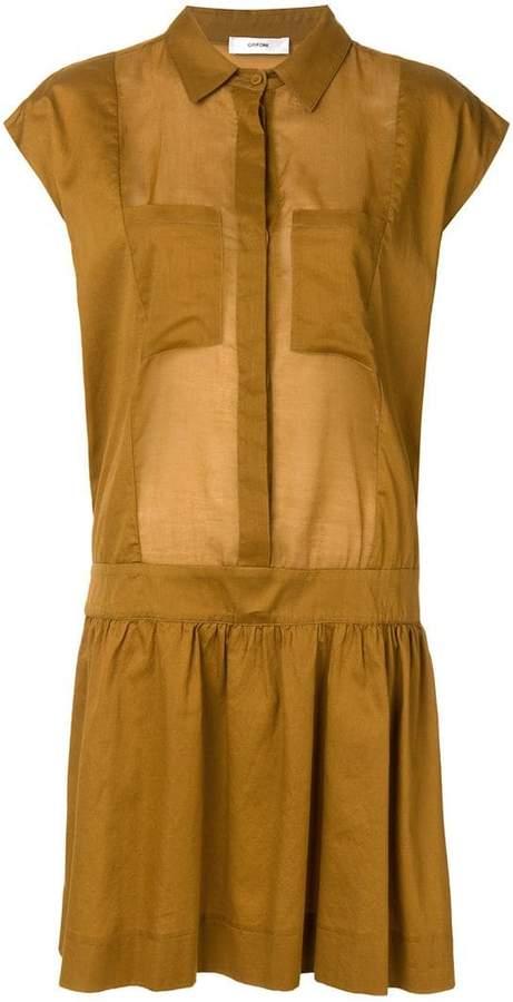 Mauro Grifoni flared shirt dress