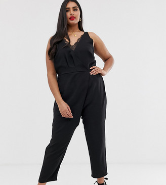 Koko jumpsuit with lace details