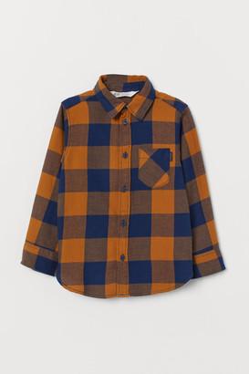 H&M Flannel Shirt - Beige