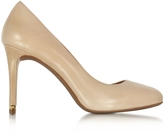 Michael Kors Ashby Light Khaki Leather Flex Pumps