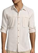 ST. JOHN'S BAY St. John's Bay Long-Sleeve Terra Tek Fishing Shirt