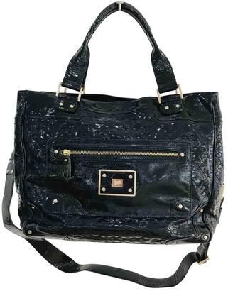 Anya Hindmarch Navy Patent leather Handbags