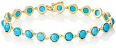 Irene Neuwirth Women's Gemstone Round-Link Bracelet-TURQUOISE, NO COLOR