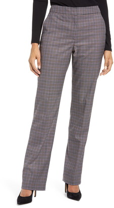 Halogen Check Ankle Stovepipe Pants