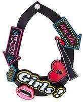 Yazbukey neon sign necklace