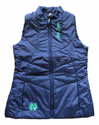 adidas Navy Polyester Coats