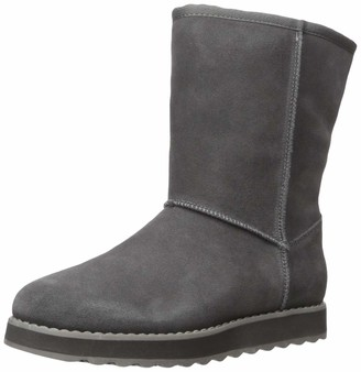 Skechers Women's Keepsakes 2.0 - First Flurry - Suede Upper Mid Pull On Cool Weather Boot Calf