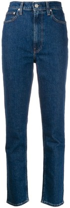 Helmut Lang high-rise slim-fit jeans
