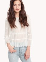 Ella Moss Piana Smocked Top