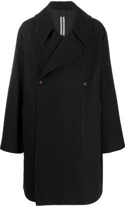 Rick Owens Oversized Double-Breasted Coat