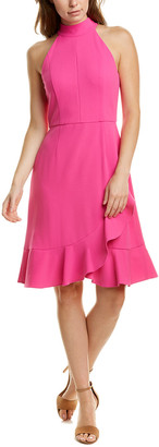 Donna Morgan Mock Neck Sheath Dress