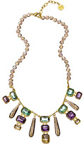 Carolee Stone Drop Rock On Necklace