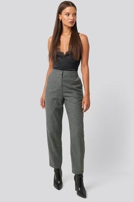 Karo Kauer X NA-KD Cigarette Suit Pants Grey