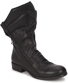 Strategia FIOULI women's Mid Boots in Black
