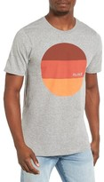Hurley Men's Circular Block Graphic T-Shirt