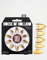 Elegant Touch House Of Holland Nails By Foils Gold