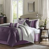 Bed Bath & Beyond Amherst Plum 7-Piece Comforter Set
