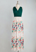 Gilli Inc Adore County Maxi Dress in Watercolor Flowers