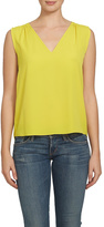 1 STATE 1.State Yellow Sleeveless Shell Top