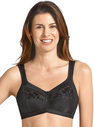 Anita Womens Care Safina Post Surgery Mastectomy Bra Size 48D in Black 50% Polyamide 30% Polyester 10% Spandex 5% Viscose 5% Cotton