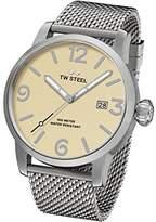 TW Steel Men's 'Maverick' Quartz Stainless Casual Watch, Color:Silver-Toned (Model: MB2)