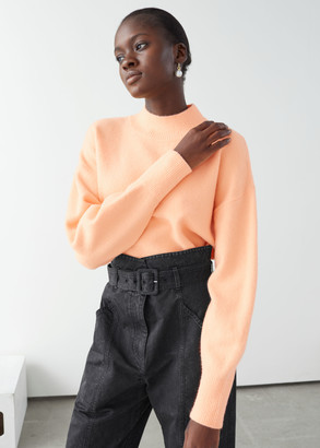 And other stories Mock Neck Sweater