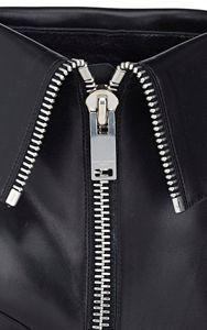 Saint Laurent Janis Side-Zip Ankle Boots-Black