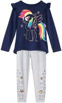 My Little Pony 2-Pc. Tunic and Leggings Set, Little Girls (4-6X)