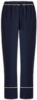 Marni Wide-leg crepe trousers