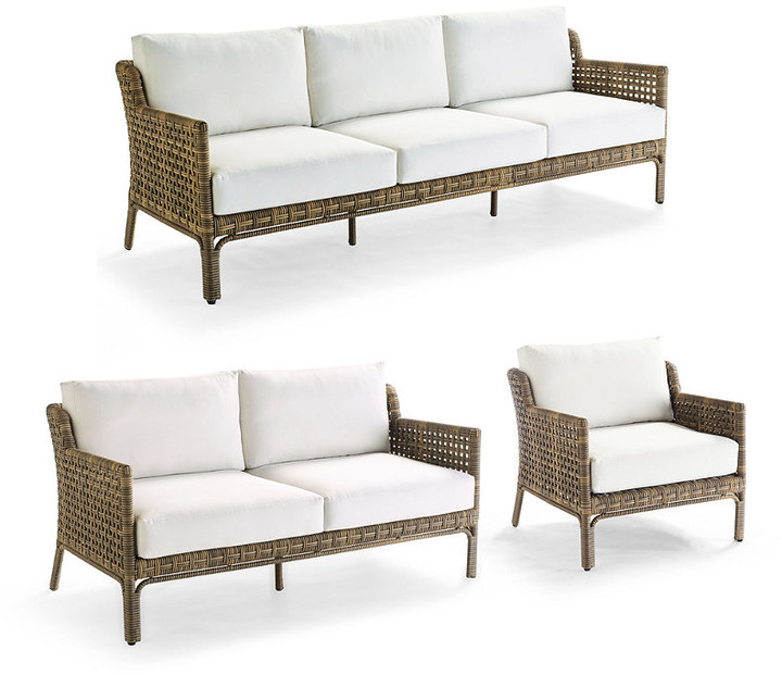Frontgate Seton Seating Replacement, Frontgate Patio Furniture Cushions