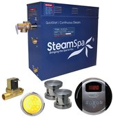 Steam Spa Indulgence 10.5 kW QuickStart Steam Bath Generator Package with Built-in Auto Drain
