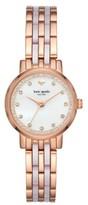 Kate Spade Women's Monterey Crystal Dial Bracelet Watch, 38Mm