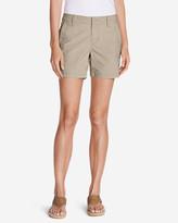 Eddie Bauer Women's Adventurer® Ripstop Slightly Curvy Embroidered Shorts