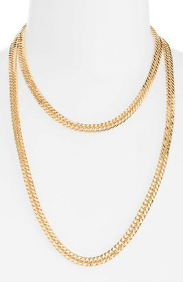 8 Other Reasons x Jill Jacobs Multistrand Chainlink Necklace